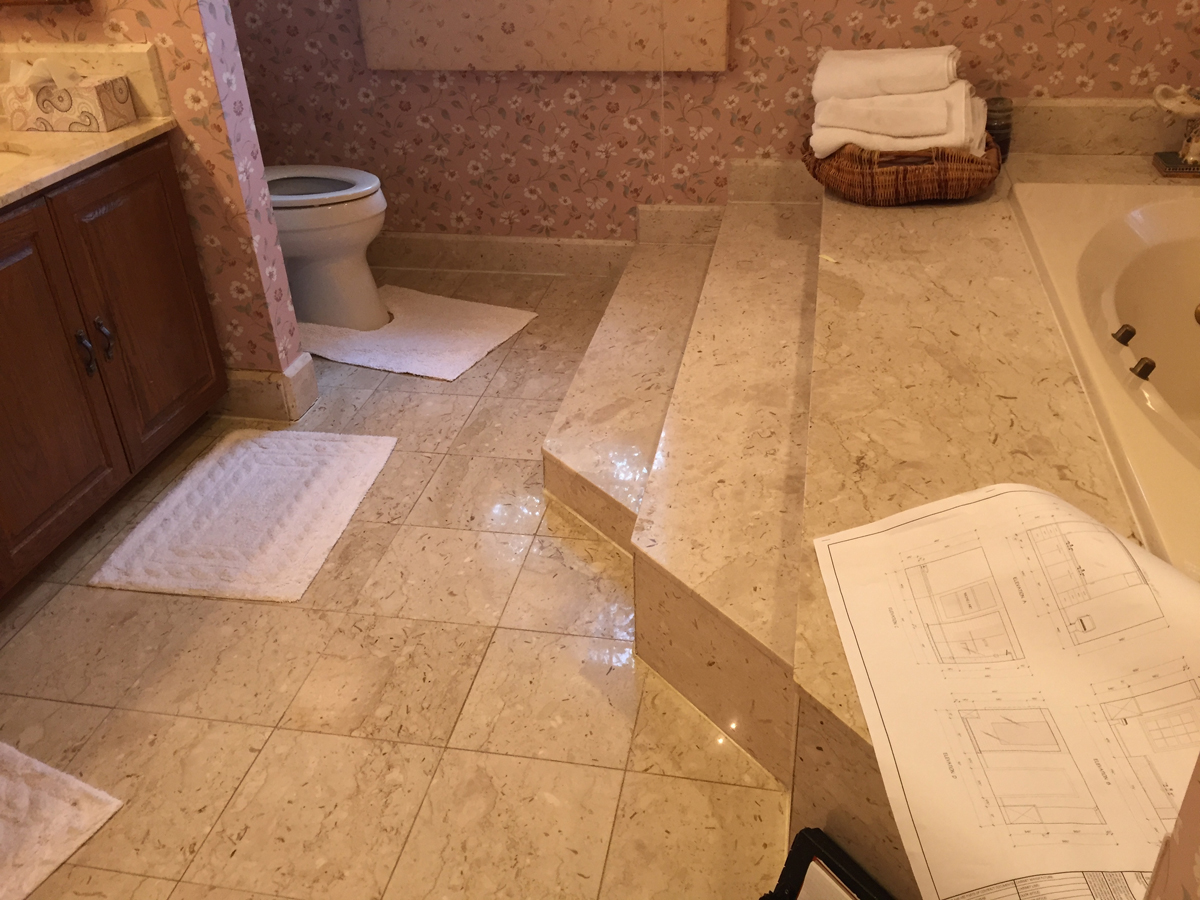 click to view this project - Bathroom Remodel Maryland