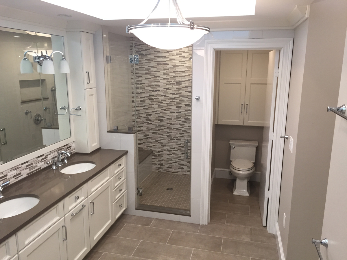 Maryland Large Bathroom Remodeling - Chevy Chase ...