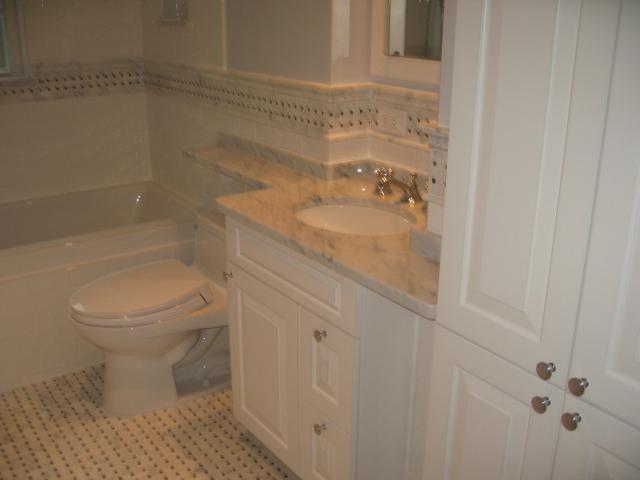 Bathroom Remodel Washington Dc maryland small bathroom remodeling - chevy chase renovation