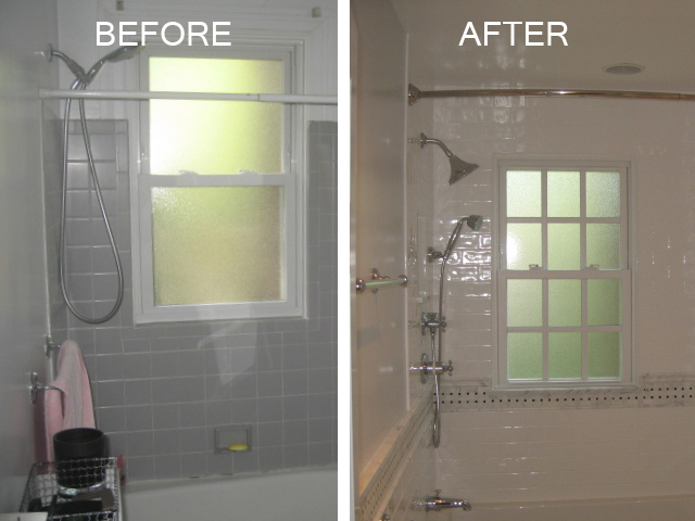 Maryland small bathroom remodeling chevy chase - Small bathroom remodel with tub ...